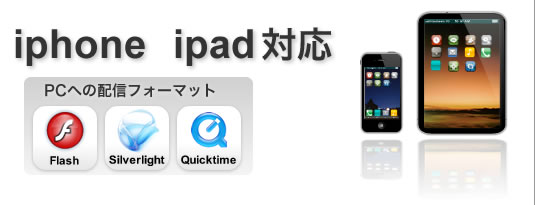 iphone ipad対応